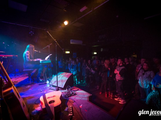 Singing at The Joiners, Southampton – 22nd April 2016