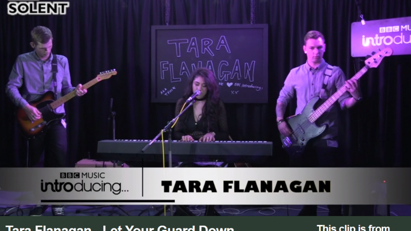 BBC Introducing Live Lounge – Let Your Guard Down – Original Song