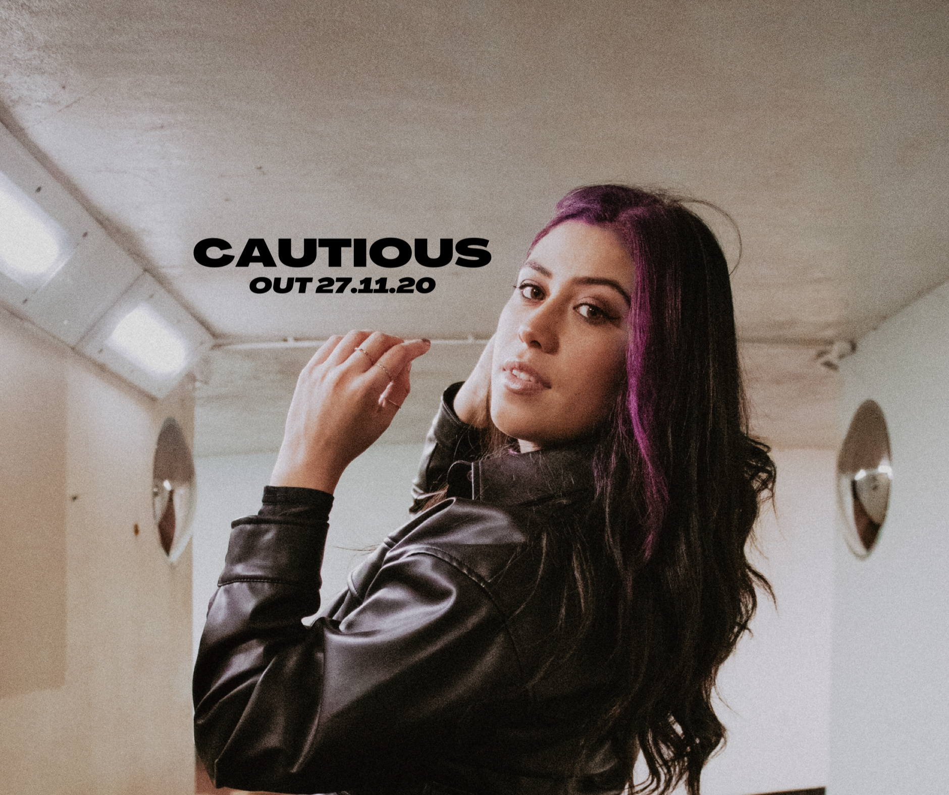 "Pre-save Tara's upcoming single ""CAUTIOUS"" out 27/11/20!"